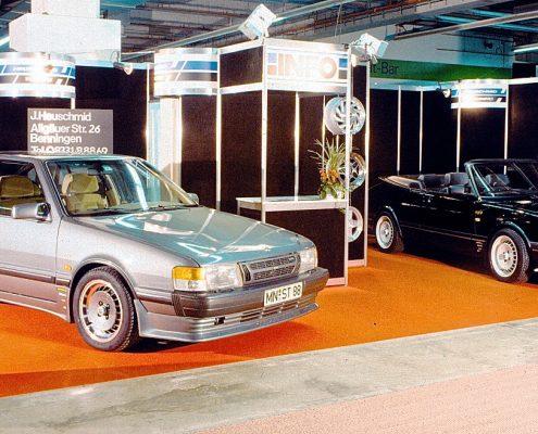 Heuschmid Messestand IAA Frankfurt 1985