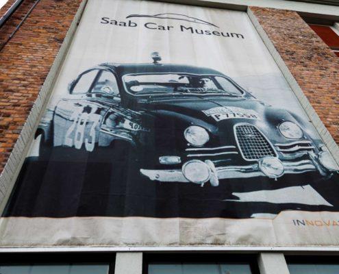 Plakat SAAB Museum Trollhättan
