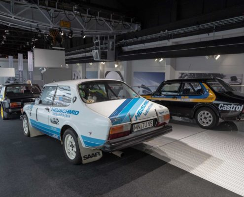 Heuschmid Rallyeauto SAAB 99