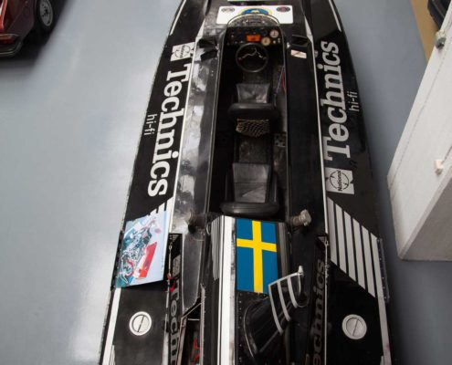 Rennboot mit SAAB Motor