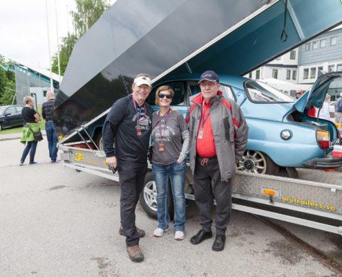 Tom Donney mit Ehefrau und Johann