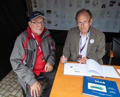 Gunnar Johansson und Johann Heuschmid