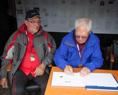 Olle Granlund und Johann Heuschmid
