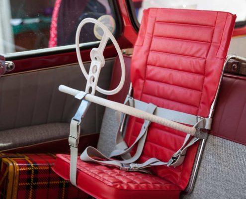 Kindersitz im 95er Kombi
